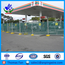 round top panel budget fence coupler temporary leg barriers