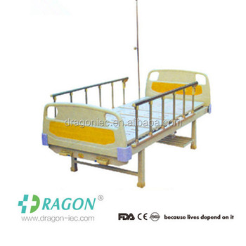 DW-BD176 Manual bed the most popular two crank manual hospital bed with two functions for icu bed