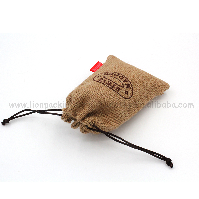 Free sample jute bag without window hemp sack