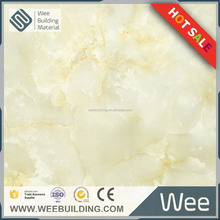 Foshan factory polished Marble style color inkject glazed porcelain floor tile building material 600x600 or 800x800