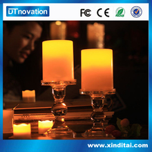 New Indoor/Outdoor LED Flameless Tealights Flickering Tea Light Candles