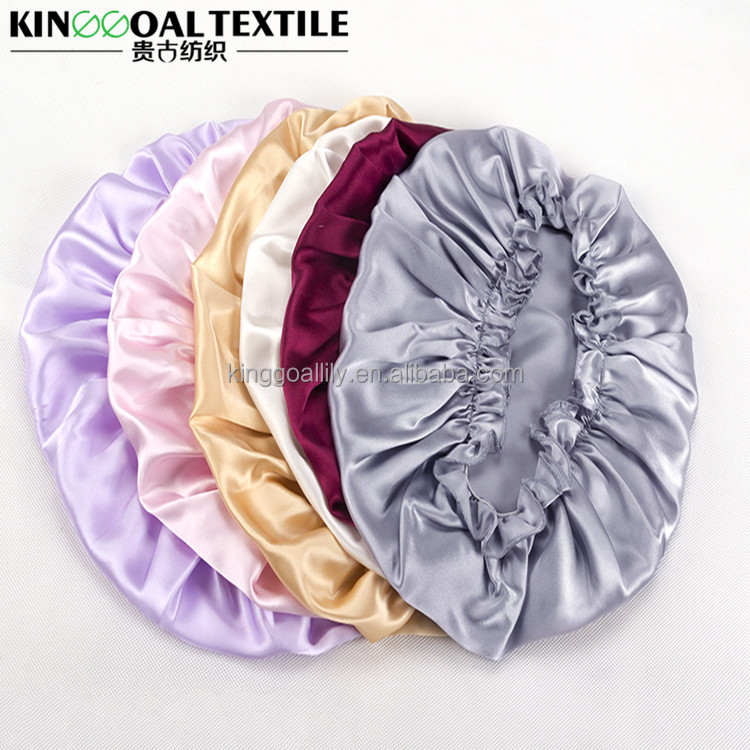 100% Pure silk 22mm Custom hair bonnet