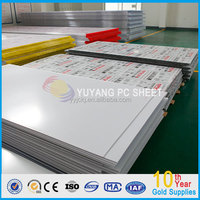 Markrolon/GE LEXAN solid polycarbonate roofing sheet
