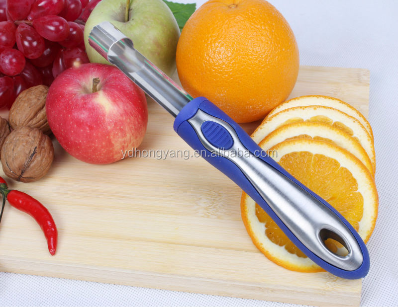 Kitchen gadget- apple core,core remover,apple cutter/apple peeler core remover
