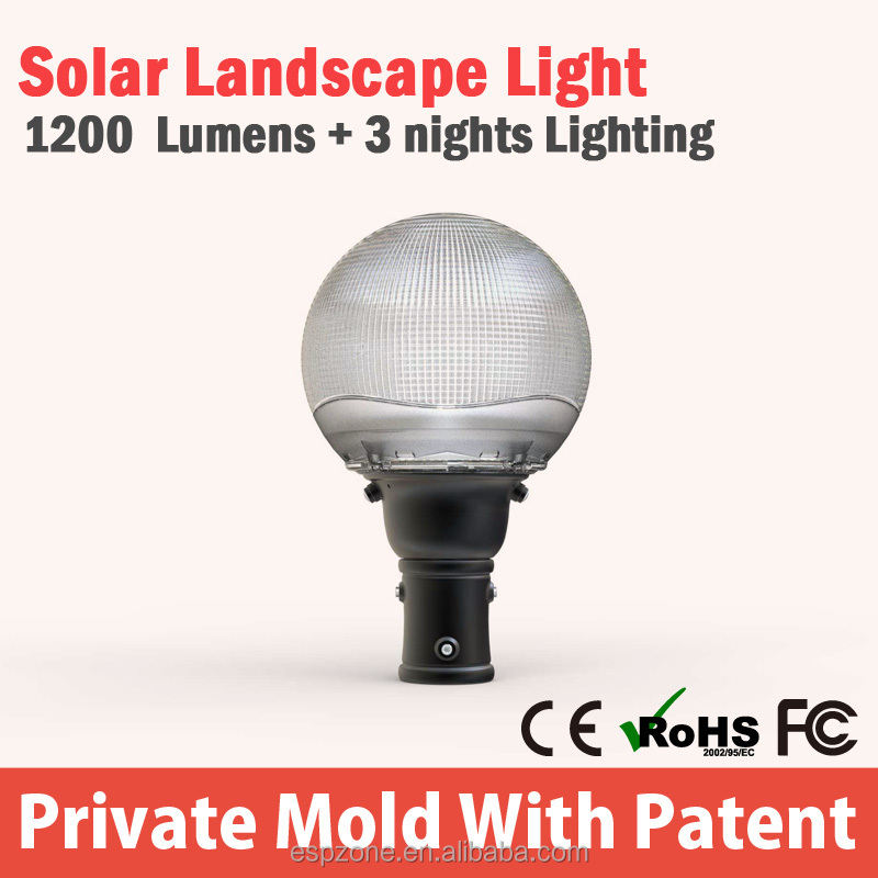 New product 2016 garden lanterns solar with high quality