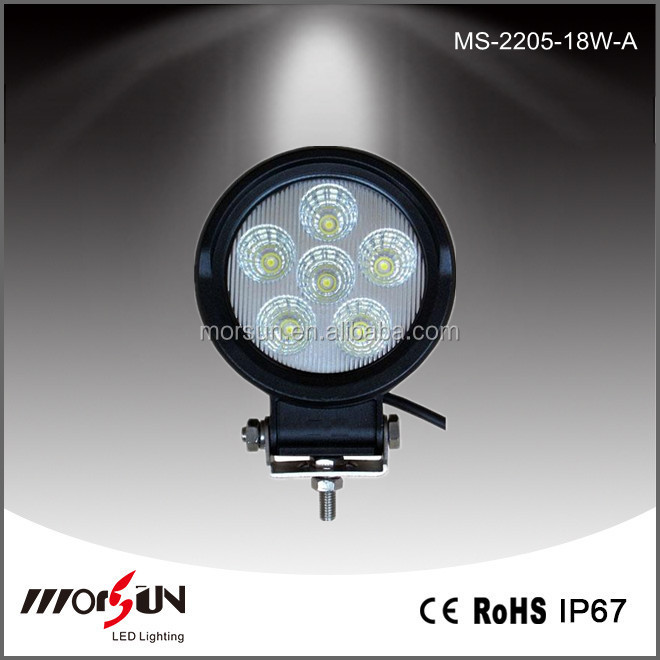 15W 12V 24v waterproof Offroad Portable machine led work light for truck auto