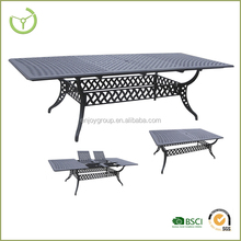 extra large mechanisms cast aluminum extension table fit for 10 people
