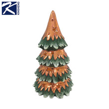High quality exquisite ceramics artificial christmas tree decoration