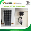 Bluesun mono 100w 18v solar panel high quality solar panel 100w solar panel price