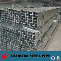 structure construction erw square section steel pipe