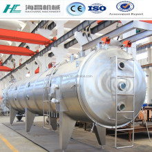 belt freeze vacuum dryer with CIP cleaning system Chinese supplier/low temperature dryer