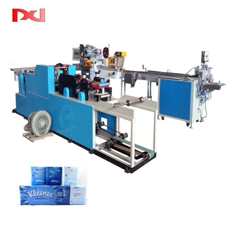 Full Automatic Mini Facial Tissue Paper Production Line