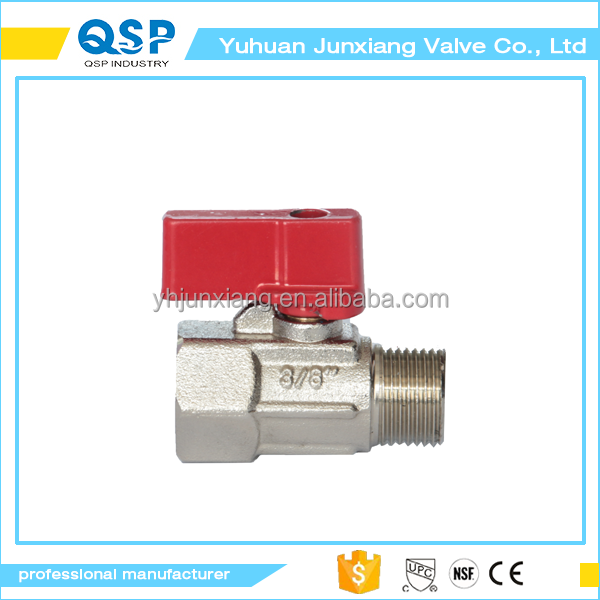 free sample brass 1 inch rp01001 one piece astm upvc ball valve with timer way female and male manual by 1/2 inch