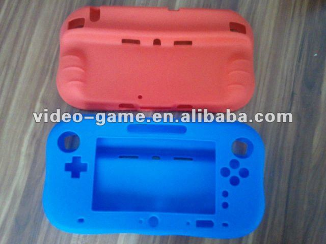 Silicon case for WII U controller