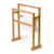 New outdoor hotel standing bamboo towel racks