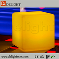 inflatable led cube/ led cube seat lighting/ led wonder cube chair