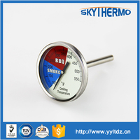 instant read food cooking oven temperature gauge