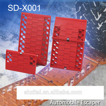 Xitai car automobile escaper car off road recovery device traction board machines for cleaning snow art.-no.e096