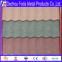 Spainish Stone coated metal roofing tile