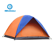Polyester Fabric Double Layer Waterproof Outdoor Travel Camping Tent