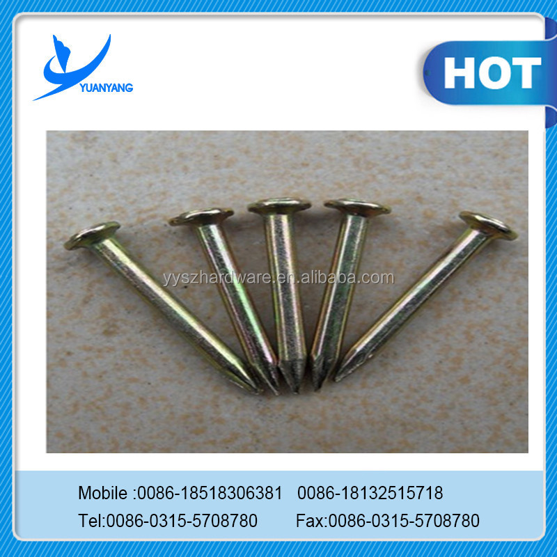 Good quality paslode nail gun/nail gun nail/concrete nails