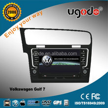 Volkswagen Golf 7 in Car DVD Player with GPS Navigation System