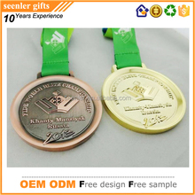 die casting zinc alloy customized antique tin imitatiom gold antique bronze plating 3D die struck bespoke medals
