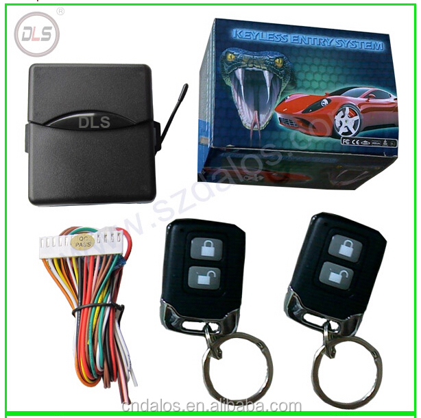 DLS Keyless Entry System Universal Car Kit Remote Control Central Door Lock Locking keyless entry