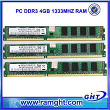 New trend product RMA Less than 1% ram ddr3 pc10600 1333 4gb