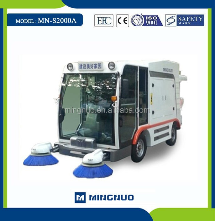 MN-S2000 vacuum cleaning road machines,city sweeping car