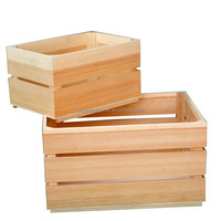 FSC&CARB wood vegetable, fruit crate wooden crate manufacturer