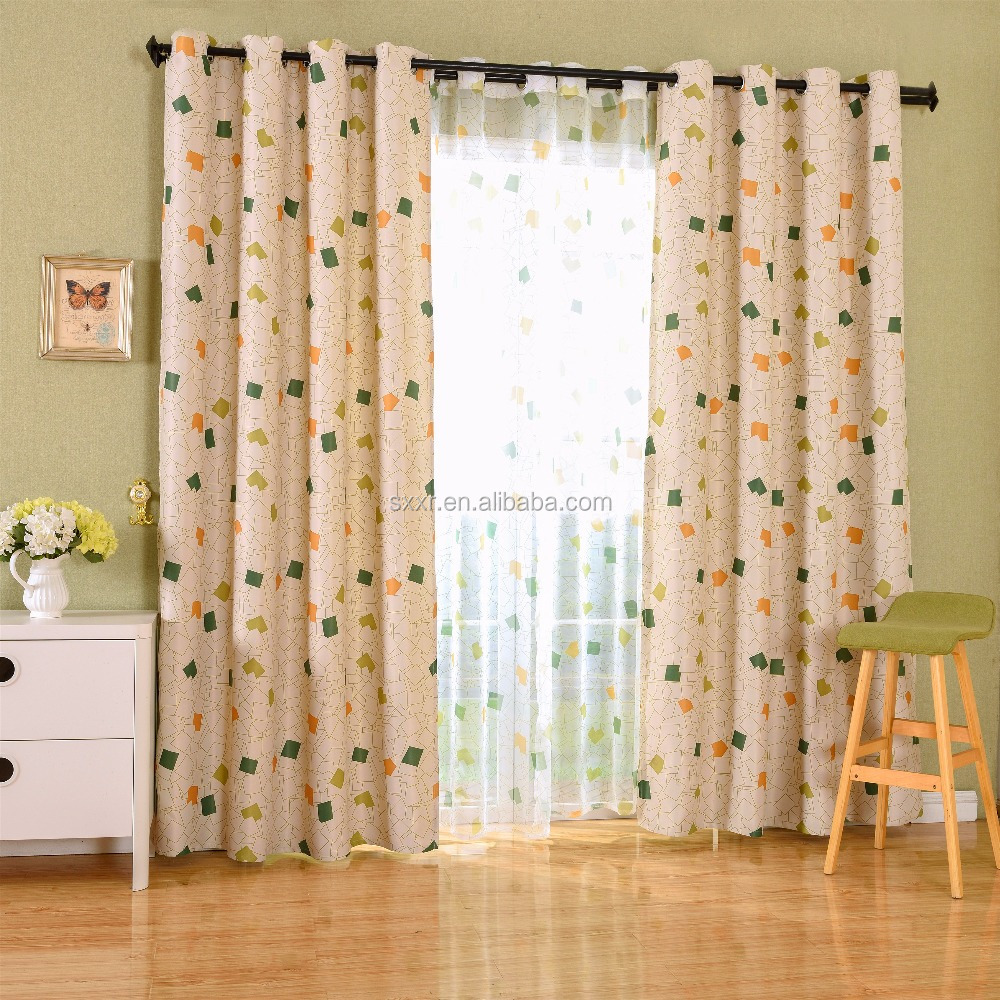 A variety of wholesale spot size curtain for room drapes printing curtains