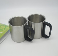 wholesale china manufacture stainless steel coffee cup with pp handle