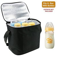 Foldable Extra Large Breast Milk Baby Insulated Cooler Bag With Air Tight Lock in the Cold