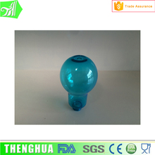 Milk Tea, Beer, Beverage Cheap PET Plastic Light Bulb Shape Bottle