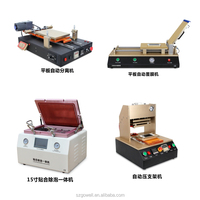 Full set LCD Screen Repair Refurbished Kit 5 in 1 Separator +Vacuum Laminator + Film Laminating machine+ OCA Bubble Remover