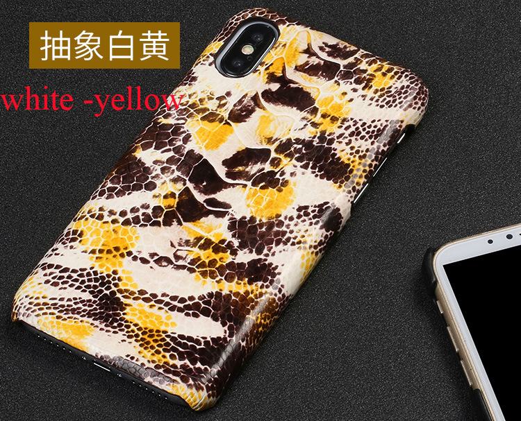 Jranter Handmade Authentic Ostrich Skin Leather Phone Case