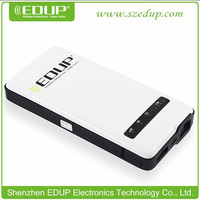 Portable 150Mbps Mini 3G Wifi Router / Wireless 3G /4G Hotspot RJ45 Support 3G USB Modem with Sim Card Slot Power bank