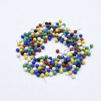 Colorful Safety Plastic Wholesale Round Head Map Pins