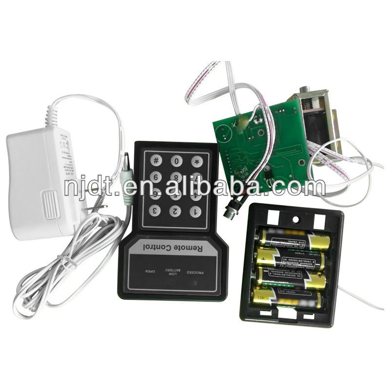 electronic lock with remote control