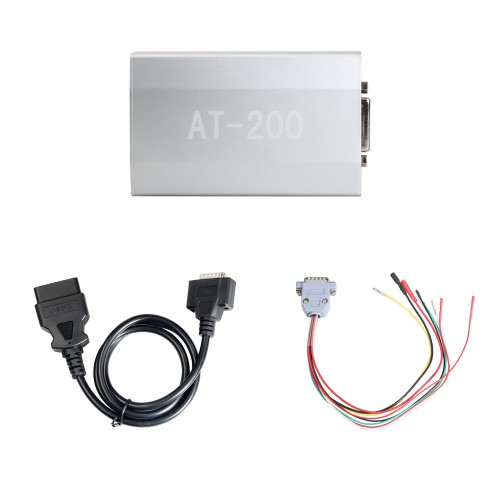 B_M_W AT-200 AT200 ECU Programmer & ISN OBD Reader Support MSV90 MSD85 MSD87 B48 etc Free Shipping by DHL