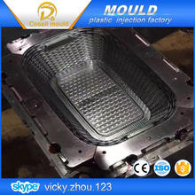 household mold plastic laundry basket quality plastic moulding