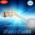 "1/2"" half inch inside mounted ball float valve for water tank float valve"