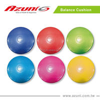 PVC Inflatable Massage Seat Cushion / Air Stability Exercise Disc / Fitness Balance Cushion
