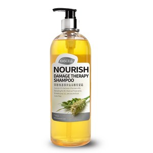 Kascell Nourish + Damage Therapy Shampoo for Designed for dry hot dye help repair dry shampoo from Taiwan 100% natural