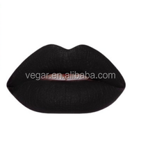 lip balm container or lipstick bottle or lipgloss black color matte lipgloss special color eye-catching color