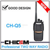 New Arrival CHICOM CH-Q5 5W UHF 2 way Radio noise suppression 5W radio FM 400-480MHz