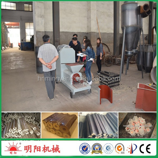 Good price with CE ISO rice husk charcoal machines for wood briquettes production