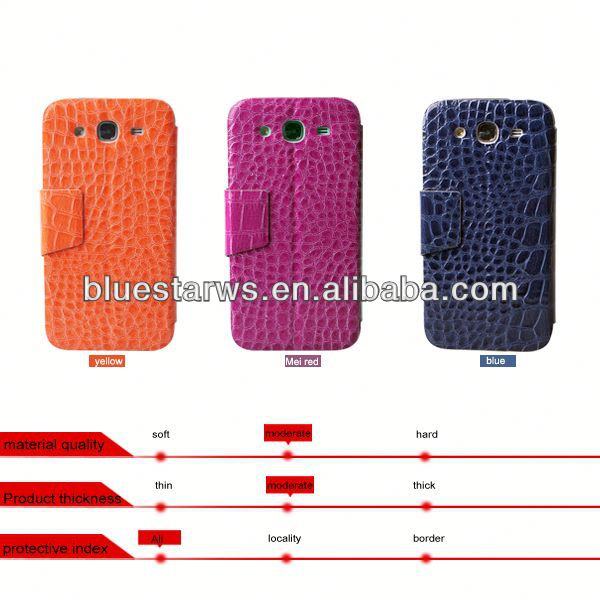 PU Leather Flip Cell Phone Case Cover For Samsung Galaxy Mega 5.8 i9150 mobile phone accessoires