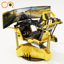 Hot Sale 3D Racing Car Arcade Game 9D Motion Driving Simulator Game Machine For sale